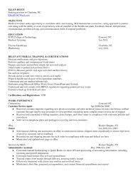 Resume Sample For Medical Assistant Objectives New Criminal Justice