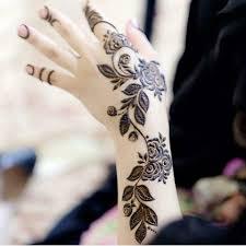 Mehndi Girls Design Pretty Back Hand Mehndi Design For Girls Shadibox