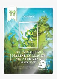 Deoproce - купить <b>Тканевая маска</b> с <b>морским</b> коллагеном ...