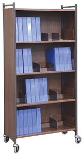 Medical Chart Carts With Vertical Racks Chart Cart Cabinets Multi Purpose Enclosed 5 Shelf