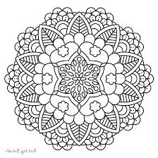 Mandala Coloring Online F5to Downloadable Adult Coloring Pages Easy