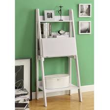 white ladder desk ikea with shelf and door panel a book arrangement a unique and small