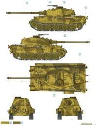 King Tiger Ausf.B <b>Two</b>-<b>Color Camouflage</b> Color Profile and Paint ...