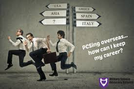 Pcsing Overseas How Can I Keep My Career
