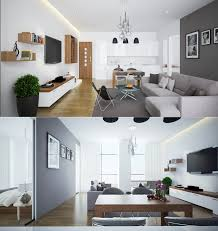 Kitchen And Living Room 23 Open Concept Apartment Interiors For Inspiration Architecture