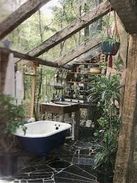 Outdoor Bathroom Plans Style