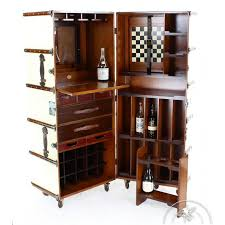 bar trunk furniture. mobile bar drinks cabinet ivorycoloured cabin trunk nelson furniture