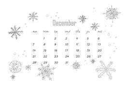 Kleurplaat Kalender December 2014 Afbeelding Voor Desktop Of
