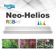 Aqua đẹp WRGB Loạt Hệ Thống ĐÈN LED Chiếu Sáng nước phát triển Sunrise  hoàng hôn hẹn giờ kim loại chân đế mở rộng ADA phong cách|Lightings