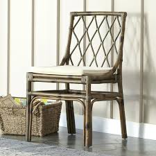white leather dining room chairs. Wayfair Dining Chairs Room Medium Size Wicker Rattan Kitchen Side Chair . White Leather