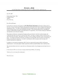 Newest Property Manager Cover Letter Sample Property Management