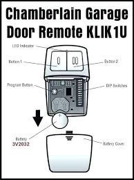 universal garage door opener remote. Modren Universal Chamberlain Garage Door Opener Programming  Remote  In Universal