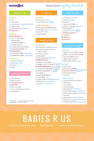 Toys R Us Diaper Chart Babies R Us Registry Checklist What Do You Really Need