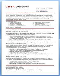 Free Sample Resume For Teachers Free Sample Resume For Teachers