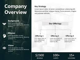 Company Overview Templates Company Overview Powerpoint Template 5 Company Overview