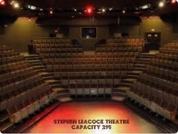 Keswick Seating Chart Theatre Information Town Of Georgina