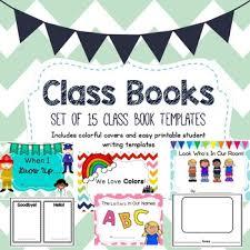 Payment Book Template Fascinating Class Book Template Set By Mrs Anna's Room Teachers Pay Teachers