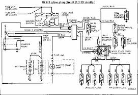 ford diagrams 1987 ford glow plug wiring drawing a