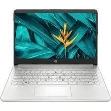 HP 14S-FQ0055AU Laptop AMD Athlon Silver 3050U 4GB 512GB 14 Inch Windows 10  - Silver - JakartaNotebook.com