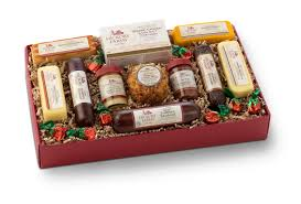 hickory farms party planner gift box review