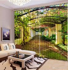 Großhandel Benutzerdefinierte 3d Stereoskopische Vorhang Große Stein