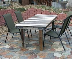 Patio Ideas Outdoor Table Rustic Chair Image Permalink Rustic
