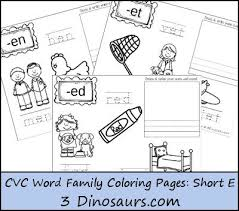 Word Family Coloring Pages New Cvc Word Family Coloring Pages Short E Vowel Word