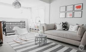 nursery with settee