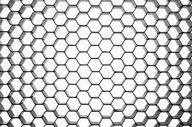 Beehive Pattern Impressive Beehive Pattern In Circular Perspective Stock Photo © OtnaYdur
