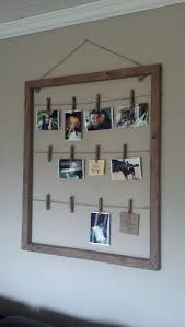 Introduction: Clothes Pin Photo Hanger