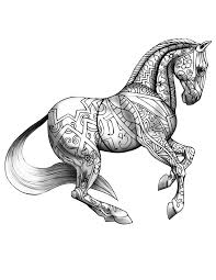34 Coloring Pages For Horses Running Horse Coloring Page Free