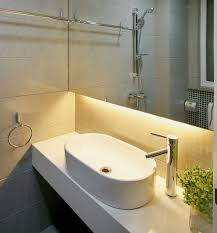 Beautiful UnderCabinet Bathroom Lighting Created By Using Warm - Bathroom lighting pinterest