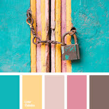 chocolate, color matching, color solution for house, deep pink, grey brown,