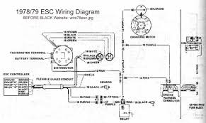 turbo electrics pennock s forum here is the 78 79 wiring diagram for the esc 1980 is similar but the exact wiring is a little different
