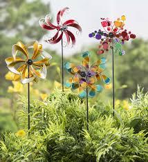 mini metal wind spinners set of 2 garden spinner wind spinner small spinners small wind spinner