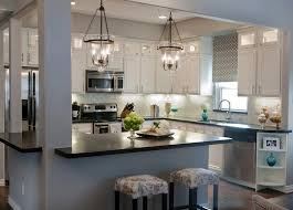 High Quality Image Of: Kitchen Lighting Fixtures Over Island Photo
