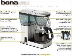 offers the bonavita bv1800 8 mug coffee maker with glass carafe for 95 43 delivered likewise accessible at sears that is down 45 from