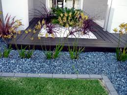 stone garden design adorable landscaping with stone ideas and use in garden decorations