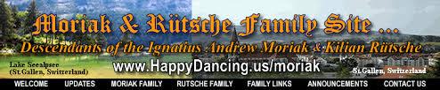 Moriak Web Site ~ Schmitz Birthdays & Wedding Anniversaries