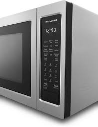kitchenaid 1 5 cu ft countertop microwave stainless steel kmcc5015gss
