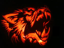 Wolf Pumpkin Carving Patterns Cool Design