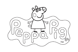 Small Picture Dibujo de la casa de Peppa Pig Dibujos para colorear