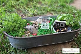 fairy gardens. How To Make A Herb Fairy Garden. Easy Container Garden For Your Kitchen! Gardens