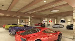 15 luxury garage wallpaper
