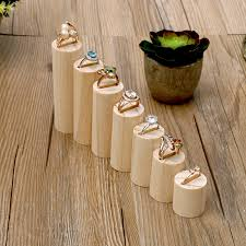 Wooden Necklace Display Stands Lot Of 100 Wood Ring Display Holder Jewelry Stand Regarding Plans 100 26