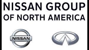 nissan logo. nissan group of north america logo