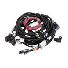 engine wiring harnesses shipping speedway motors holley efi 558 114 ford coyote main harness w smart coils
