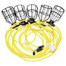 job site string lighting 50