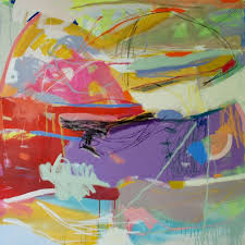 new abstract paintings by mice armas design milk