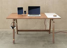 We've Looked Simple Desk Design At To Cut Cable Clutter With Storage And  Gutters. But This Deceptively Looking Artifox